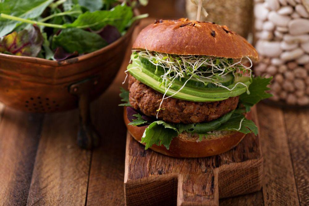 veggie burger trish