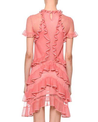 alexander mcqueen dress pink