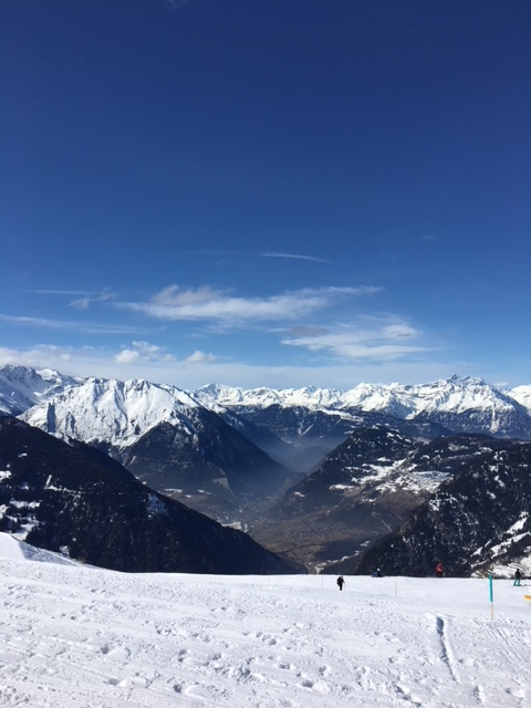 verbier view from the top