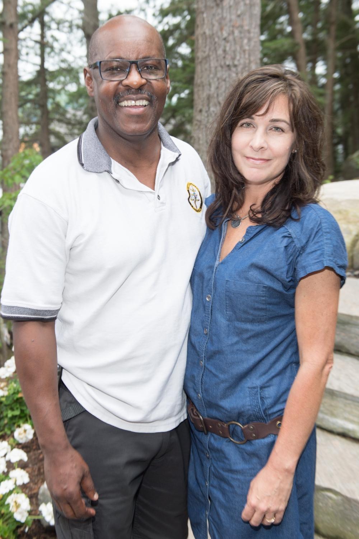 I Hart Muskoka police chief and wife
