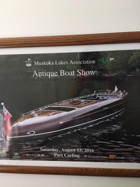 antique boat poster 2