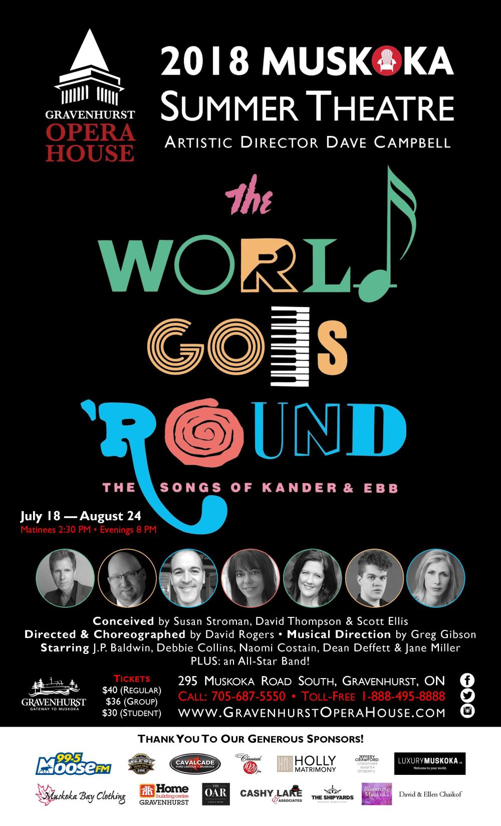 world goes around theatre